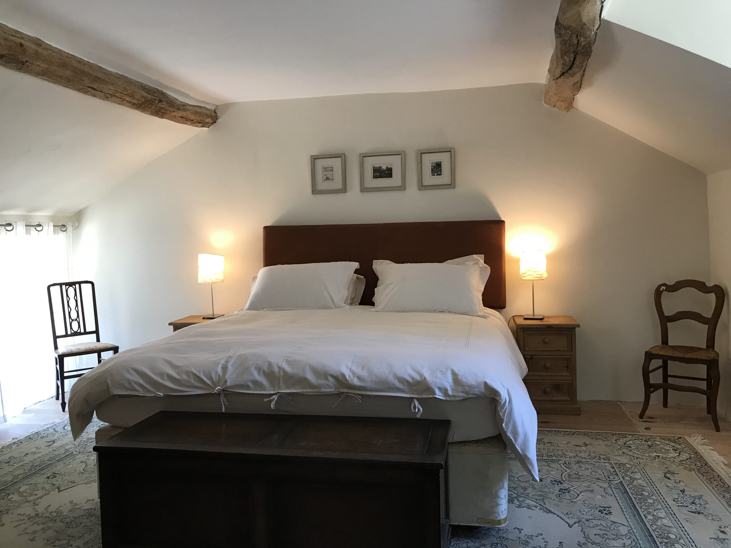 Master bedroom in Loire